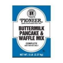 Pioneer 5 lb. Buttermilk Pancake and Waffle Mix