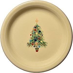 (Fiesta Christmas Tree Appetizer Plate )
