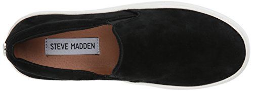 Madden Black Women's Suede Sneaker Steve Gills SfxqAwT11