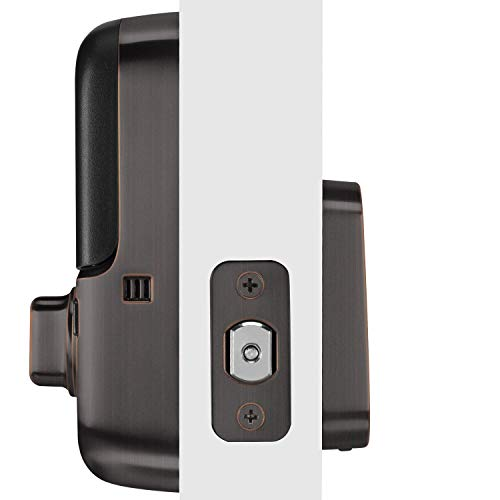 Yale Assure Lock SL, Wi-Fi and Bluetooth Deadbolt - Works with Amazon Alexa, Google Assistant, HomeKit, Airbnb and More - Bronze