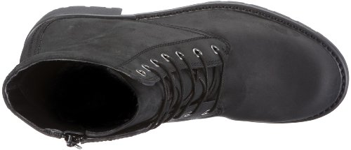 Clarks Orinoco Hop 20347381 Damen Biker Boots Schwarz (Black Leather)