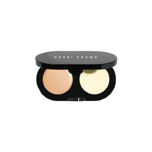 - Bobbi Brown New Creamy Concealer Kit - Warm Beige Creamy Concealer + Pale Yellow Sheer Finish Pressed Powder -...