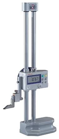 Mitutoyo 192-613-10 LCD Digimatic Height Gauge, 0-300mm Range, 0.01mm-0.005mm Resolution, +/-0.02mm Accuracy, 4.7kg Mass