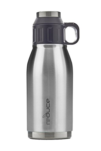 reduce COLD-1 Stainless Steel Insulated Canteen, 32oz (Stainless Steel) by reduce