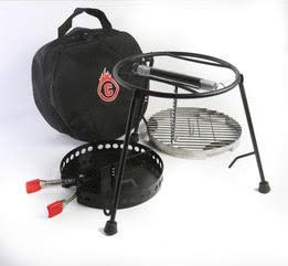 CampMaid Grill & Smoker (3 Piece)