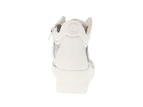 226BBWHITE Ruco Women's White Line Sneakers Fabric wFFqErU