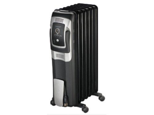 Honeywell 7 Fin Oil Filled Radiator Heater with Digital C...