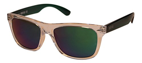 Kenneth Cole Reaction Unisex Wayfarer Translucent Sunglasses