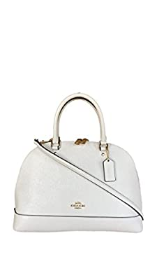 Coach Crossgrain Leather Sierra Satchel - Chalk