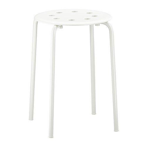 Ikea - Marius Stool Stackable - White  sc 1 st  Amazon.com & Ikea Stools: Amazon.com islam-shia.org