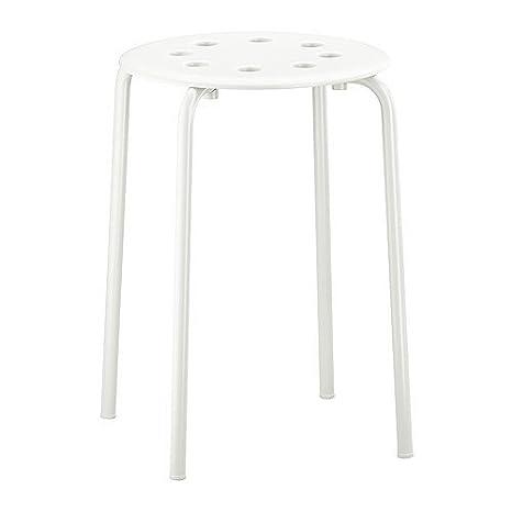Ikea Marius - Sgabello, colore: bianco: Amazon.it: Casa e cucina