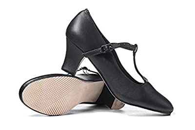 """Theatricals Adult 2"""" T-Strap Character Shoes T3300"""