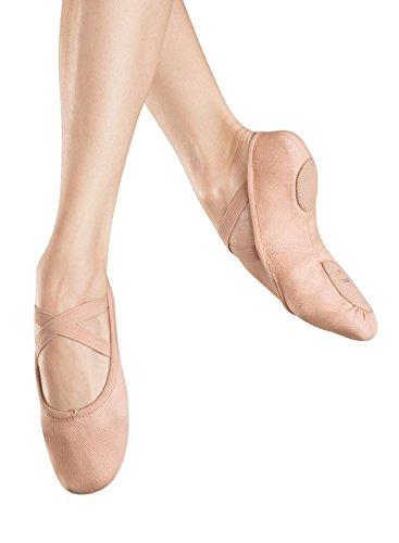 Bloch Dance Womens Zenith Ballet Flat, Pink, 4.5 B -