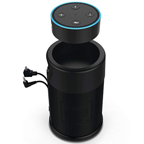Wireless Battery Speaker for Amazon Echo Dot 2nd Generation by i-box