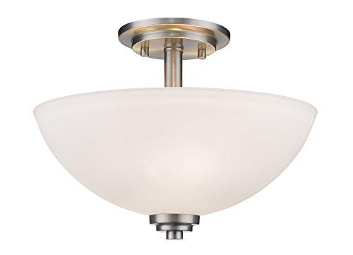 Z-Lite Ashton 443SF-BN Semi Flush Mount Light