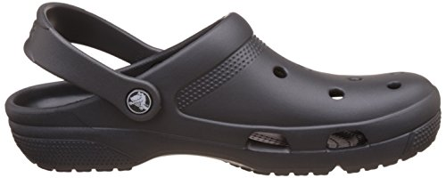 Crocs Unisex Adults' Coast Mules, Grey (Graphite 014.), 6 UK Women/5 UK Men (8 US Women/6 US Men) 7.5 UK