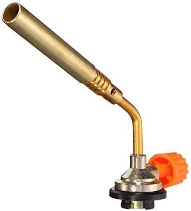 Tools Centre Camping Welding Gas Brass Torch Blow torch Flame Gun Butane.