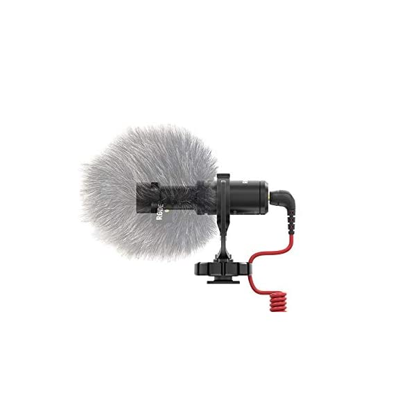 Rode VideoMicro - Microfono Direzionale Compatto per fotocamere DSLR, videocamere e registratori audio portatili, Jack 3,5 mm, Colori assortiti, 1 pezzo 3 spesavip