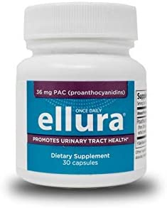 ellura 36 mg PAC 30 caps – New Packaging – Medical-Grade Cranberry Supplement for UTI Prevention – Highest Potency