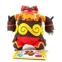 My Pokemon Collection Best Wishes Mini Plush Doll (#47488) - Emboar / Embuoh by Banpresto