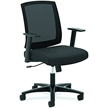 amazon com basyx by hon mesh task chair mid back office