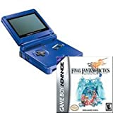 Game Boy Advance SP Cobalt Blue and Final Fantasy Tactics Bundle