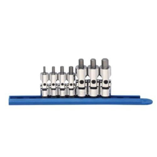 e Universal Metric Stubby Hex Socket Set by GearWrench ()
