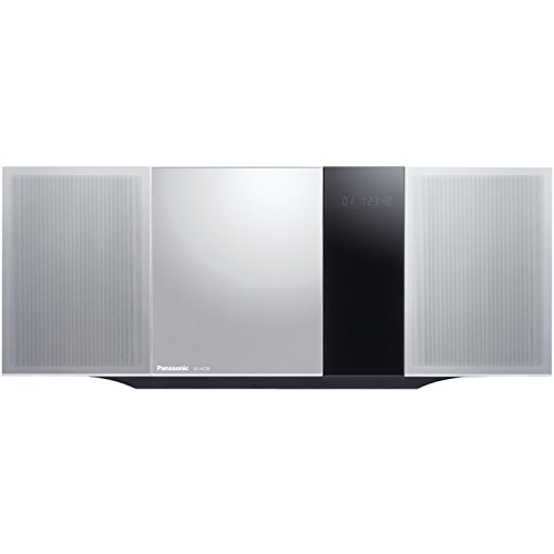Panasonic Micro Home Audio Sound System SC-HC39 (Metallic - Panasonic Micro Music System