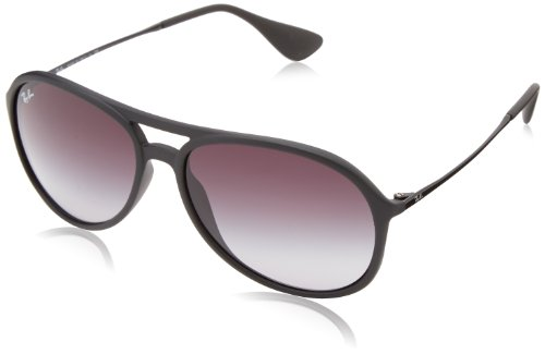 Ray-Ban ALEX - RUBBER BLACK Frame ? Lenses - Black Rubber Frame Ban Ray