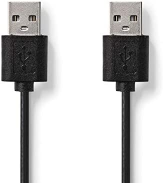 KnnX 28083 | Cable USB 2.0 | A Macho a A Macho | Longitud: 3 ...