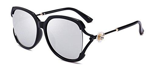 en métallique polarisées retro style lunettes B rond soleil inspirées de Lennon du vintage cercle wxqR1
