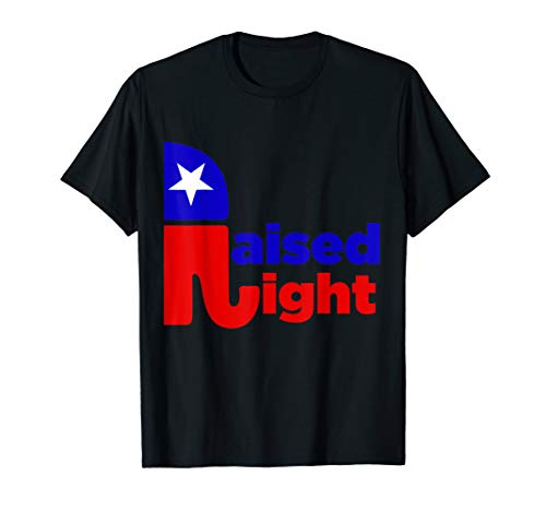 (Republican Raised Right T-Shirt - Cool elephant tee shirt)