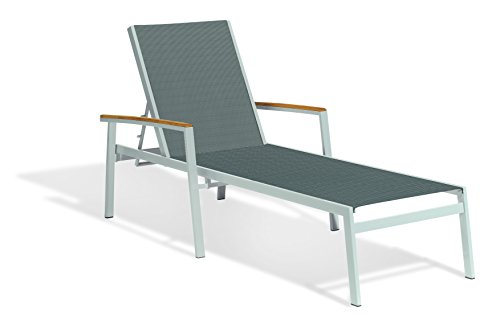Oxford Garden TVL80T1092 Travira Chaise Lounge Set of 2, Set of 4, Titanium (Chaise Lounge Commercial Chairs)