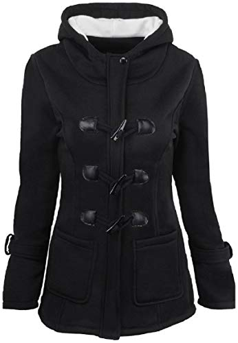Warm Black Outwear Hooded Winter Down Plus Howme Keep Women Coat Size xAw1qfn