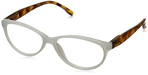 Peepers Women's Birds Of Paradise 2247175 Cateye Reading Glasses, White, 1.75 White Reading Glasses