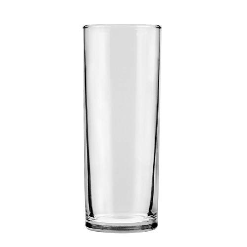 (Anchor Hocking 3532U Straight Sided 12 oz Shell Zombie Glass - 72 / CS)