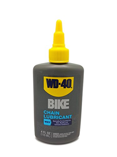 WD-40 BIKE  Wet Chain Lubricant, 4 OZ