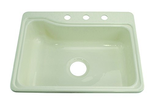 Console Classic Lavatory - Lippert Components 209407 Better Bath White 25 x 19 Single Sink by Lippert Components