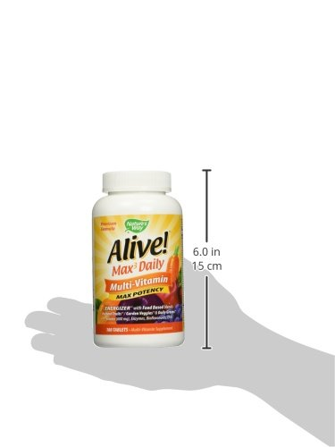 Nature S Way Alive Vitamin Commercial