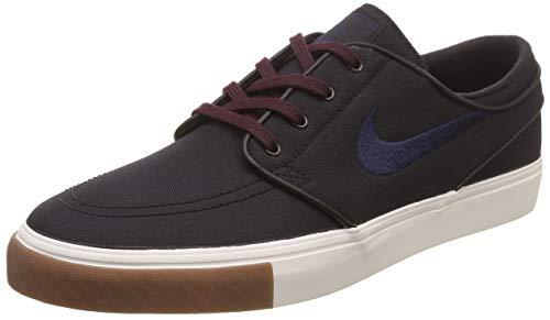 Nike Zoom Stefan Janoski CNVS Mens Fashion-Sneakers 615957-024_10 - Black/Obsidian-Burgundy Crush