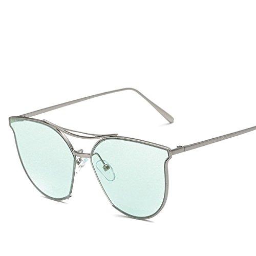 La De Gafas Señoras Moda Green Sol Gafas Pink Jelly Color De Sol Sol Las Color Gafas De Sol De De Gafas De Redondas De XYxwRS