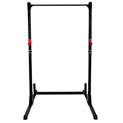 BBBuy Strength Power Lifting Rack Squat Bench Deadlift Curl Pull Up Cage Weight Stand Power Rack
