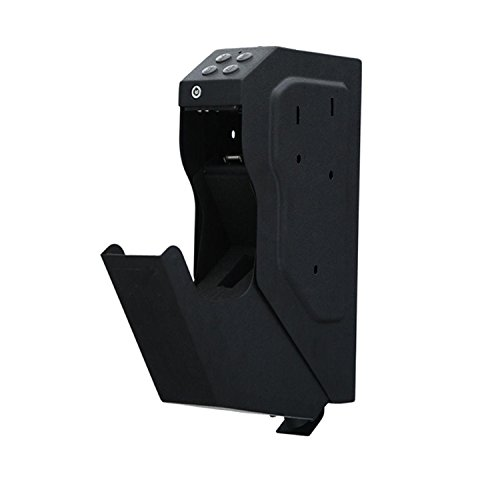 googic Safe Box for Hand Gun,Pass Word,with Key, Easy,Speed by googic