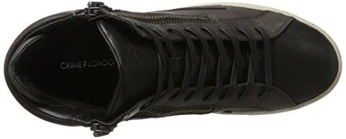 11334a17b London Sneaker Alto Grau Collo a Grigio Uomo Crime ZqFBB