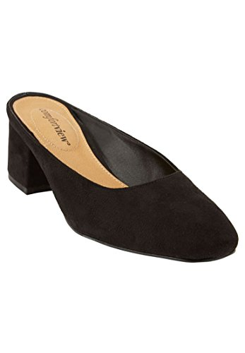 Comfortview Womens Wide Judy Mules Black 0PtJllgVs