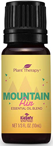 Plant Therapy Mountain Air Essential Oil Summer Blend 10 mL (1/3 oz) 100% Pure, Therapeutic Grade, ()