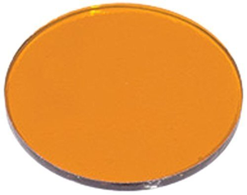 Colored Lens Accessory for Lamp Track Heads Color: Golden Amber, Lamp Type: MR16
