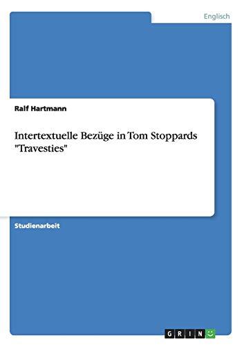 Intertextuelle Bezüge in Tom Stoppards