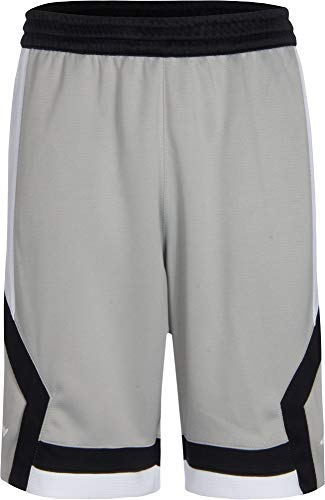 Jordan Boys' Dry Rise Shorts (S, Light Grey)