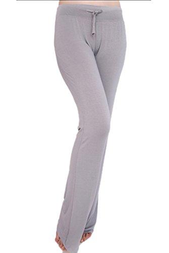 ABUSA Women's Cotton Workout Leggings Boot Cut Sports Pants